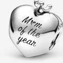 Pandora Mom Of The Year Heart Charm