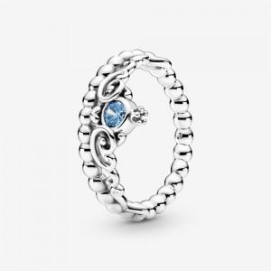 Pandora Disney Cinderella Blue Tiara Ring