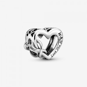 Pandora Love You Mum Infinity Heart Charm