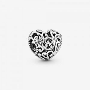 Pandora Regal Openwork Heart Charm