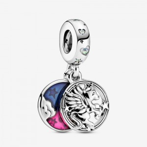 Pandora Magical Unicorn Double Dangle Charm