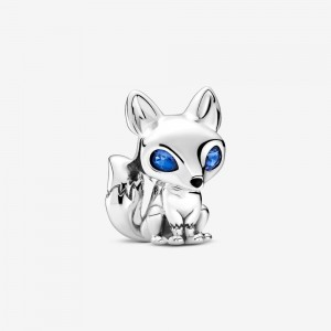 Pandora Blue-Eyed Fox Charm