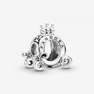 Pandora Polished Crown O Carriage Charm