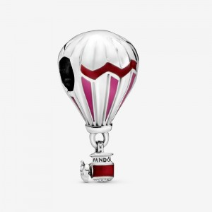Pandora Red Hot Air Balloon Travel Charm
