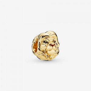 Pandora LIMITED EDITION Disney, The Lion King Simba Charm, Pandora Shine™ Gold