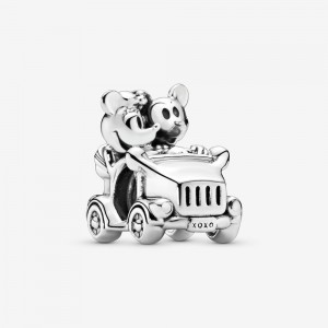 Pandora Disney Minnie Mouse & Mickey Mouse Car Charm