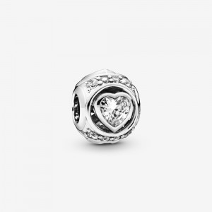 Pandora Elevated Heart Charm