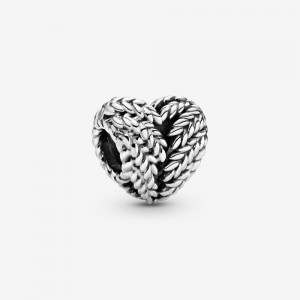 Pandora Grains Heart Charm