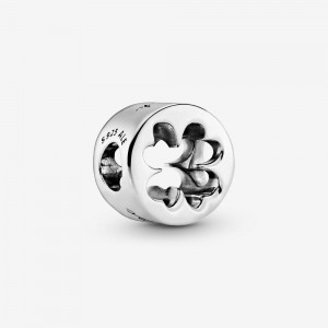 Pandora Luck & Courage Four-Leaf Clover Charm