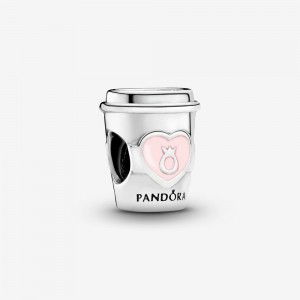 Pandora Take a Break Coffee Cup Charm