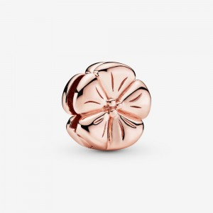 Pandora Polished Flower Clip Charm