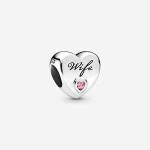 Pandora Wife Love Heart Charm