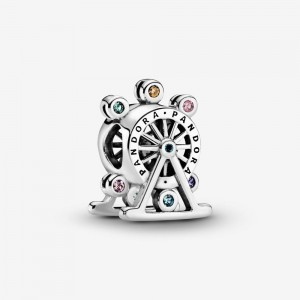 Pandora Colorful Ferris Wheel Charm