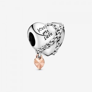 Pandora Chained Heart Charm