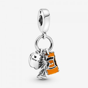Pandora Symbols of New York City Dangle Charm