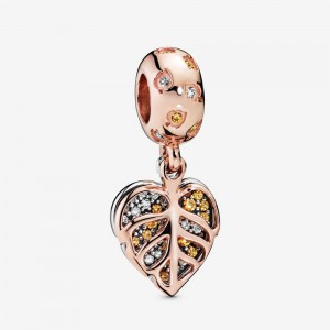 Pandora Sparkling Leaves Dangle Charm