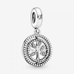 Pandora Spinning Family Tree Dangle Charm