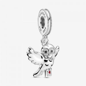 Pandora Harry Potter, Hedwig Owl Dangle Charm