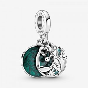 Pandora Christmas Mistletoe Dangle Charm