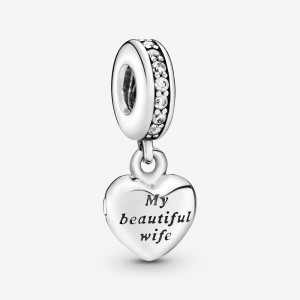 Pandora My Beautiful Wife Dangle Charm