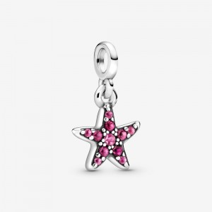 Pandora My Pink Starfish Dangle Charm