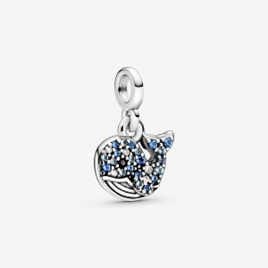Pandora My Blue Whale Dangle Charm