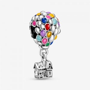 Pandora Disney Pixar Up House & Balloons Charm