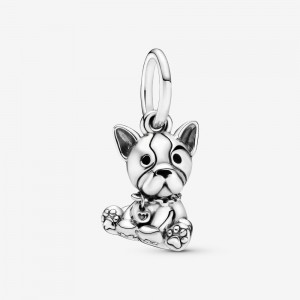 Pandora Bulldog Puppy Dog Dangle Charm