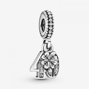 Pandora 40th Celebration Dangle Charm