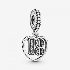 Pandora 18th Celebration Dangle Charm