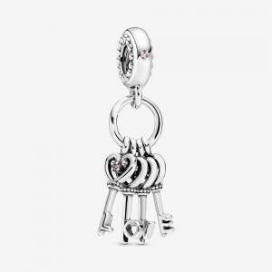 Pandora Keys of Love Dangle Charm