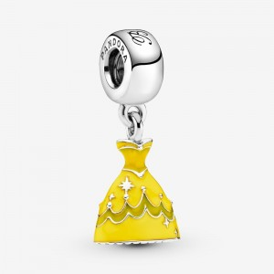 Pandora Disney Beauty and the Beast Belle's Dress Dangle Charm