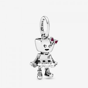 Pandora Bella Bot Punk Band Dangle Charm