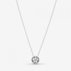 Pandora Sparkling Snowflake Collier Necklace