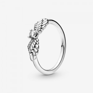 Pandora Sparkling Angel Wings Ring