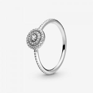 Pandora Elegant Sparkle Ring Silver