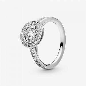 Pandora Vintage Circle Ring Silver