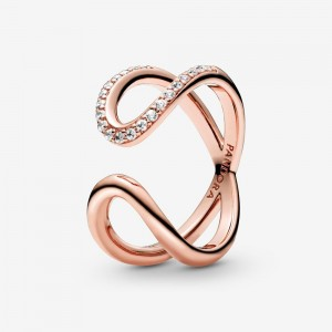 Pandora Wrapped Open Infinity Ring