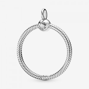 Pandora Pandora Moments Medium O Pendant Silver