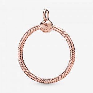 Pandora Pandora Moments Medium O Pendant Rose Gold