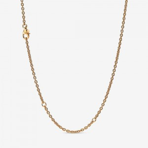 Pandora Cable Chain Necklace Gold