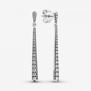 Pandora Sparkling Stones Hanging Earrings