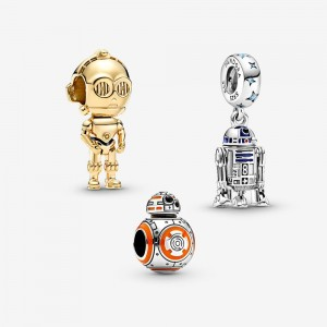 Pandora Star Wars™ Droid Charm Trio