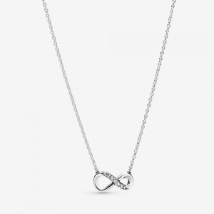 Pandora Sparkling Infinity Collier Necklace