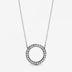 Pandora Circle of Sparkle Necklace