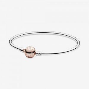 Pandora Pandora Moments Bangle Two Tone
