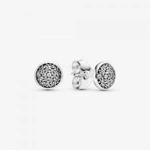 Pandora PavéStud Earrings Silver