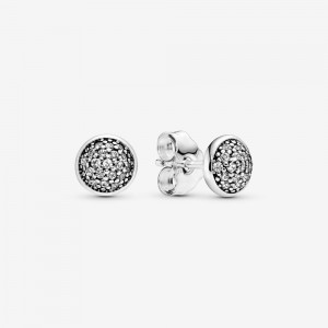 Pandora PavéStud Earrings Silver
