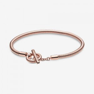 Pandora Pandora Moments T-Bar Snake Chain Bracelet