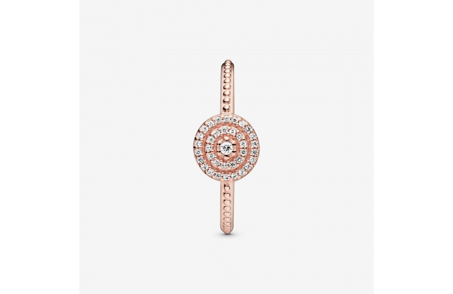 Pandora Elegant Sparkle Ring Rose Gold